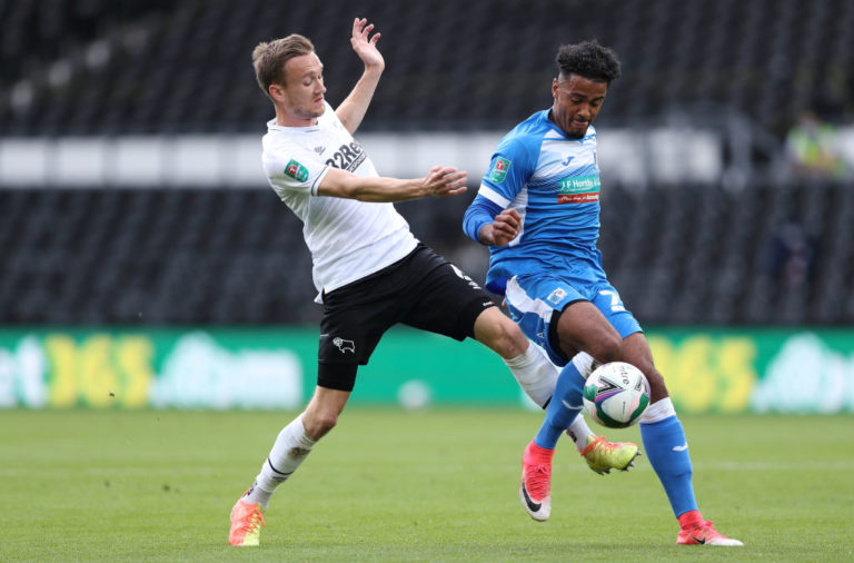 Derby County v Barrow - Carabao Cup First Round