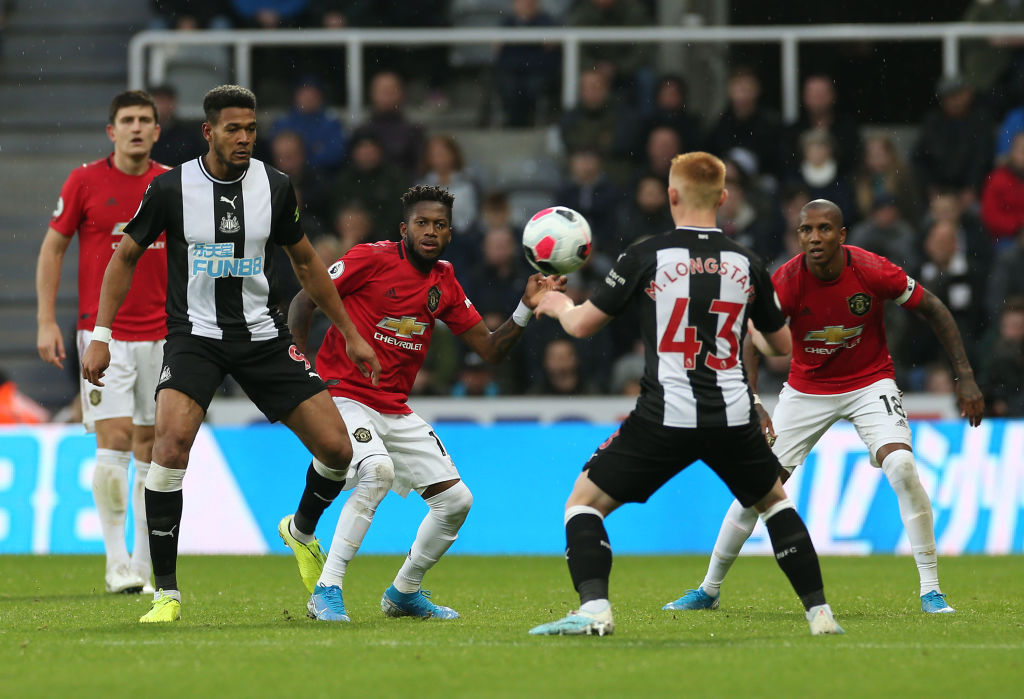 Newcastle United v Manchester United - Premier League