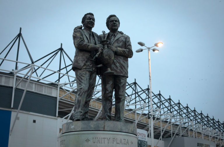 United Kingdom - Derby - Derby Country Versus Stoke City Football Match