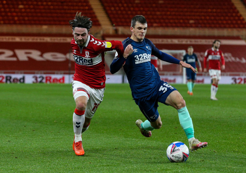 Middlesbrough v Derby County - Sky Bet Championship