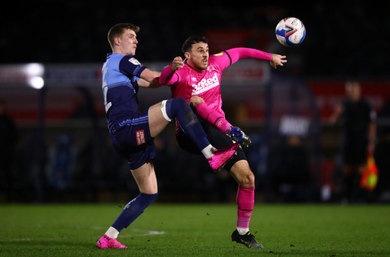 Wycombe Wanderers v Derby County - Sky Bet Championship