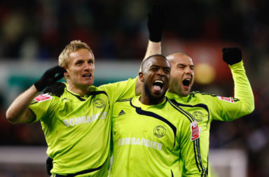 Stoke City v Derby County - Carling Cup
