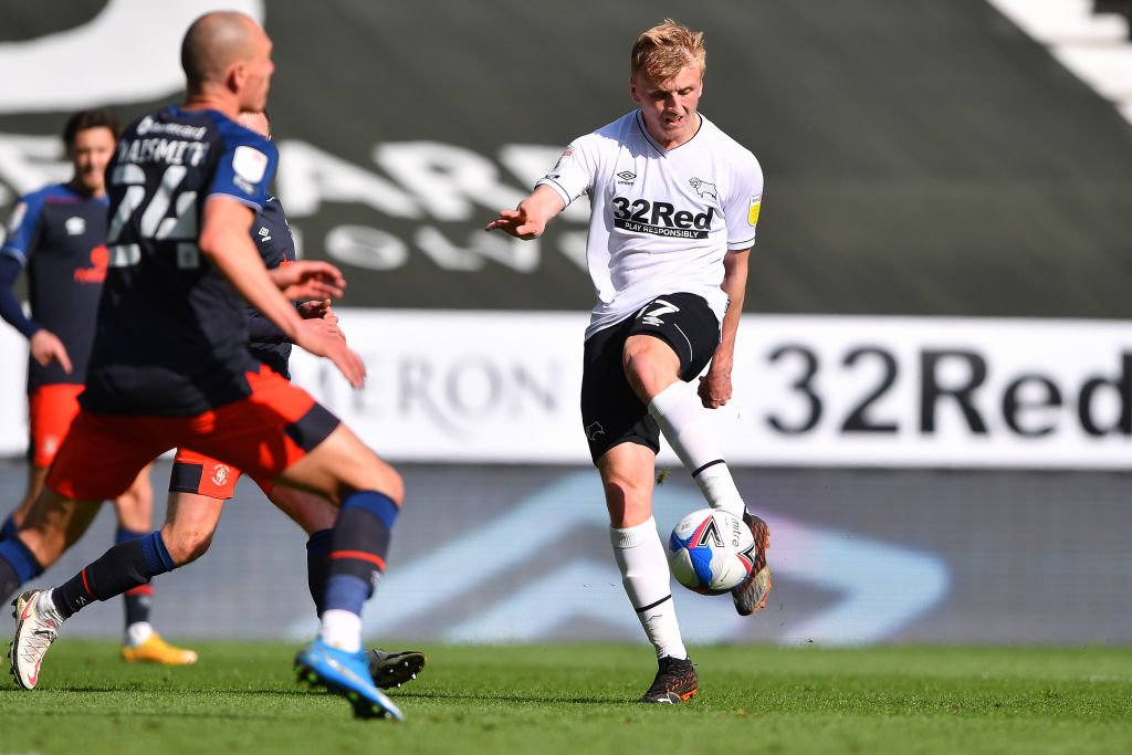 Derby County v Luton Town - Sky Bet Championship