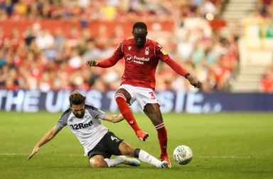Nottingham Forest v Derby County - Carabao Cup Second Round